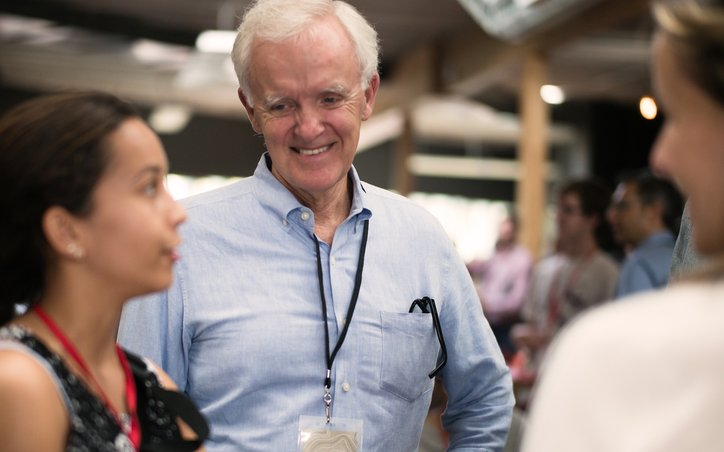 Bob Kerrey during Civitas